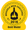 Leder Medaglia Oro Bruxelles Beer Challenge